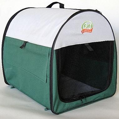 Go Pet Club Soft Sided Pet Crate w/ Sheepskin Mat; X-Large (39'' H x 32'' W x 48'' L)