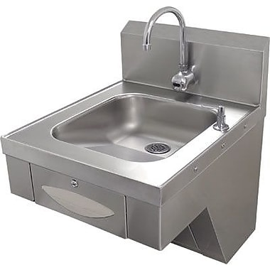 Advance Tabco 20'' x 24'' Single Hands Free Hand Sink w/ Faucet