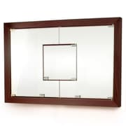 D'Vontz MDV Modular Cabinetry 38.5'' x 26.5'' Recessed Medicine Cabinet; Espresso