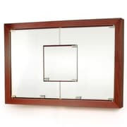 D'Vontz MDV Modular Cabinetry 38.5'' x 26.5'' Surface Mount Medicine Cabinet; Traditional Cherry