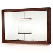 D'Vontz MDV Modular Cabinetry 38.5'' x 26.5'' Surface Mount Medicine Cabinet; Espresso