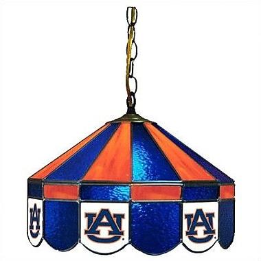 Wave 7 NCAA Wide Swag Hanging Lamp; Auburn