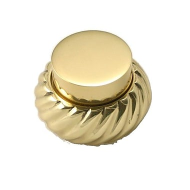 Allied Brass Standing Toilet Euro Tissue Holder; Polished Brass
