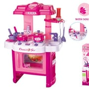 Berry Toys Fun Cooking Plastic Play Kitchen; Pink