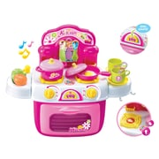 Berry Toys My First Portable Kitchen Play Set; Pink