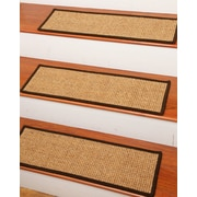 Natural Area Rugs Skyline Carpet Stair Tread; Set of 8