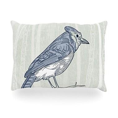 KESS InHouse Jay Outdoor Throw Pillow; 14'' H x 20'' W x 3'' D