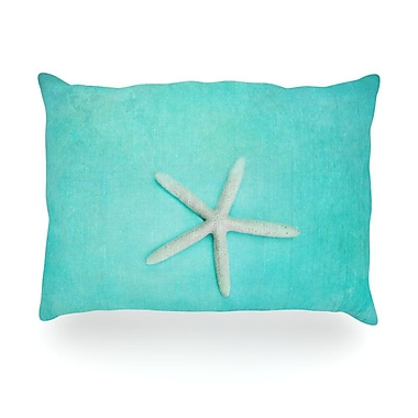 KESS InHouse Starfish Outdoor Throw Pillow; 14'' H x 20'' W x 3'' D
