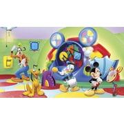 York Wallcoverings Walt Disney Kids II Mcky Friends Clbhse Capers Wall Mural