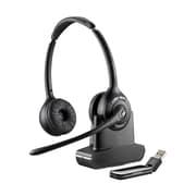 Plantronics – Casque d'écoute serre-tête USB sans fil W420, binaural