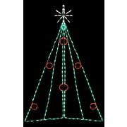 Brite Ideas Christmas Tree w/ Berries LED Light