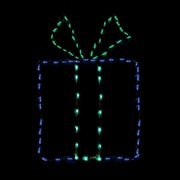 Brite Ideas Gift Box - Bow LED Light; Blue