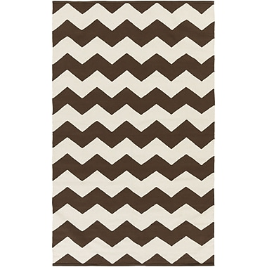 Artistic Weavers Vogue Brown Chevron Collins Area Rug; 8' x 10'