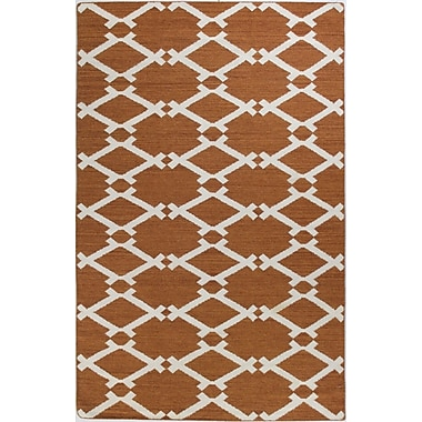 Bashian Rugs Rockport Rust Area Rug; Rectangle 8'6'' x 11'6''