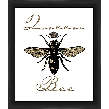 PTM Images Queen Bee Framed Graphic Art