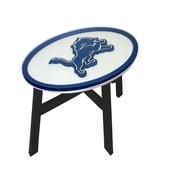 Fan Creations NFL End Table; Detroit Lions