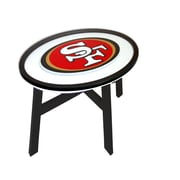 Fan Creations NFL End Table; San Francisco 49ers