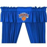 Sports Coverage NBA New York Knicks Curtain Valance