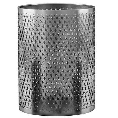 NU Steel Platinum Waste Basket