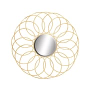 Woodland Imports Exquisite & Elegant Metal Mirror