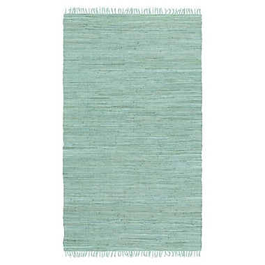 Artistic Weavers Easy Home Teal Solid Delaney Area Rug; 3'6'' x 5'6''