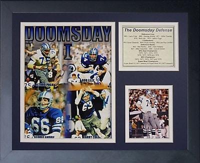 Legends Never Die Dallas Cowboys Doomsday Machine Framed Memorabili WYF078277244942