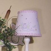 Brandee Danielle Froggy Lavender 8'' Cotton Empire Lamp Shade