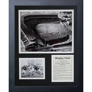 Legends Never Die Chicago Bears Wrigley Field Framed Memorabili