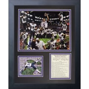 Legends Never Die Baltimore Ravens 2012 Champs Framed Memorabili