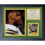 Legends Never Die Green Bay Packers Reggie Framed Memorabilia