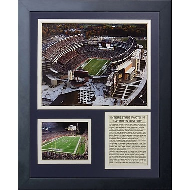 Legends Never Die New England Patriots Gillette Stadium Framed Memorabili