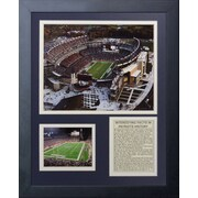 Legends Never Die New England Patriots Gillette Stadium Framed Memorabili