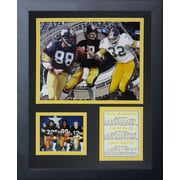 Legends Never Die Pittsburgh Steelers 70's Big 3 Framed Memorabili