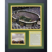 Legends Never Die Green Bay Packers Lambeau Field Framed Memorabilia