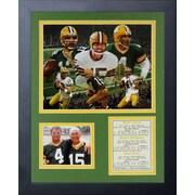 Legends Never Die Green Bay Packers Packers Quarterbacks Framed Memorabilia