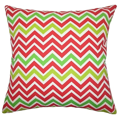 The Pillow Collection Holiday Zoom Throw Pillow