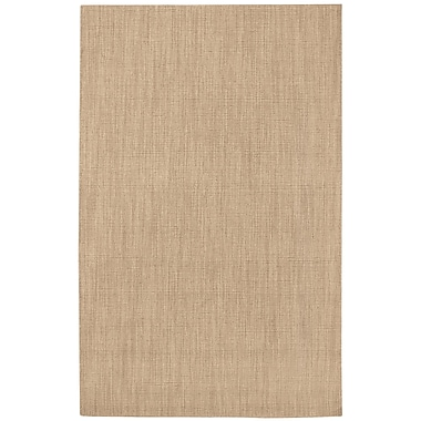 Capel Hermitage Sand Area Rug; Runner 2'3'' x 8'