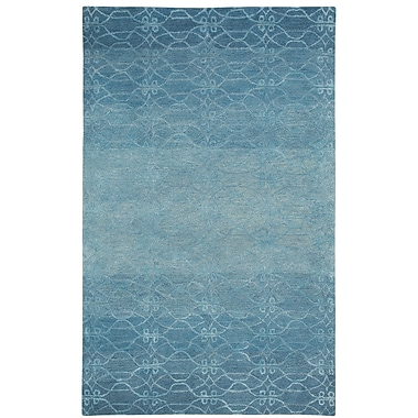 Capel Gave Ocean Blue Area Rug; Rectangle 7' x 9'