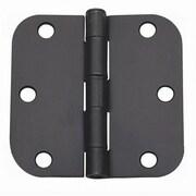 Global Door Controls 3.5'' H   3.5'' W Butt/Ball Bearing Pair Door Hinges (Set of 2)