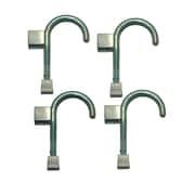 Global Door Controls Universal Wall Hook (Set of 4); Bisto Green