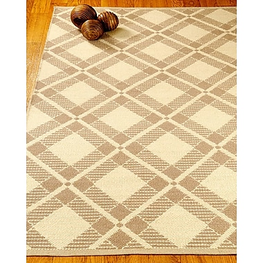 Natural Area Rugs Whimsy Dhurrie Beige/Tan Area Rug; Rectangle 8' x 10'
