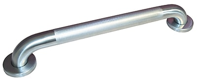 Global Door Controls Knurled Stainless Steel Grab Bar; 1.5'' H x 42'' W x 1.25'' D