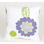 Sweet Potato by Glenna Jean LuLu Flowers Cotton Throw Pillow