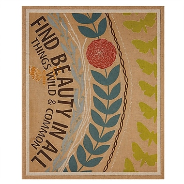 CBK Find Beauty Graphic Art on Wrapped Canvas