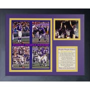 Legends Never Die Minnesota Vikings Purple People Eaters I Framed Memorabili