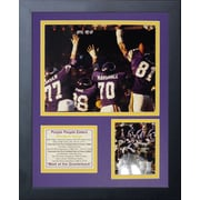 Legends Never Die Minnesota Vikings Purple People Eaters II Framed Memorabili