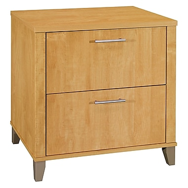 Bush Furniture Somerset 30W Lateral File, Maple Cross (WC81480)