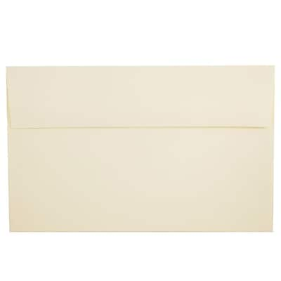 JAM Paper® A10 Invitation Envelopes, 6 x 9.5, Strathmore Ivory Wove, 50/pack (900849930I)