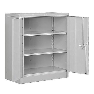 Salsbury Industries Heavy Duty 2 Door Storage Cabinet; Gray