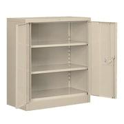Salsbury Industries Heavy Duty 2 Door Storage Cabinet; Tan